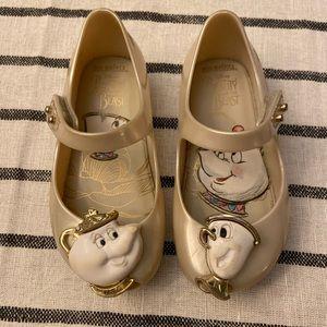 mini melissa Disney Beauty and the Beast Shoes